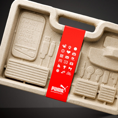 PUMA Phone Packaging