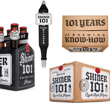 Shiner Beers 101 Packaging