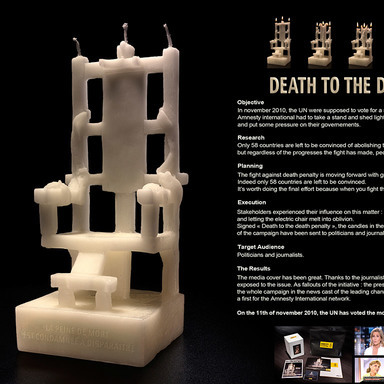 DEATH PENALTY CANDLES