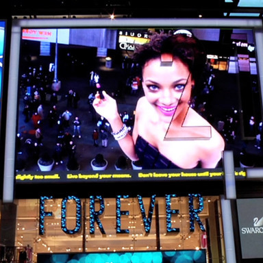 Forever 21 Digital Billboard