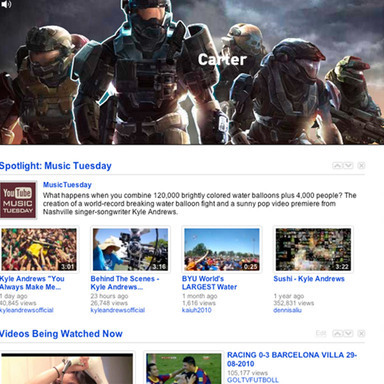 Halo: Reach YouTube Masthead - 'Clicktacular'