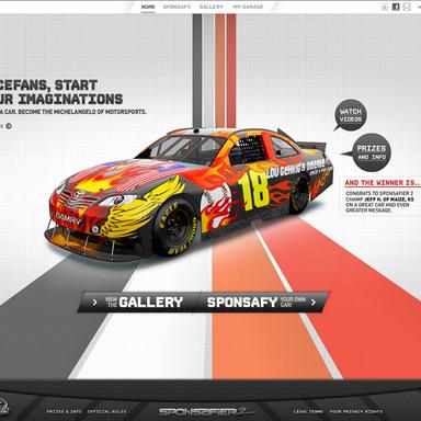 NASCAR Sponsafier II 360º Campaign