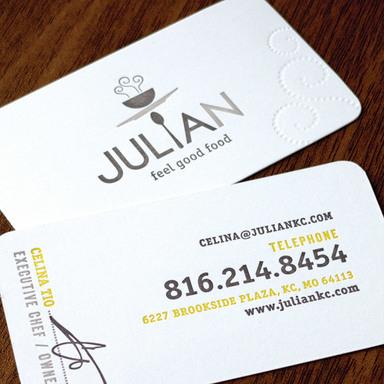 Julian Restaurant Identity