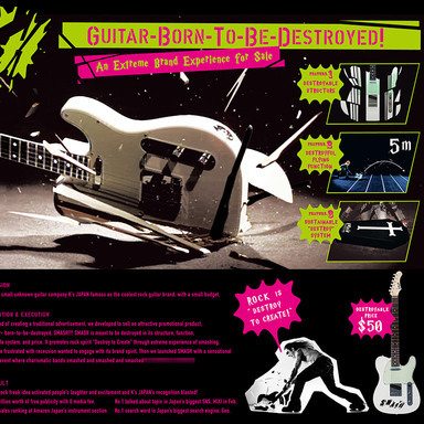 SMASH: Guitar Born To Be Destroyed
