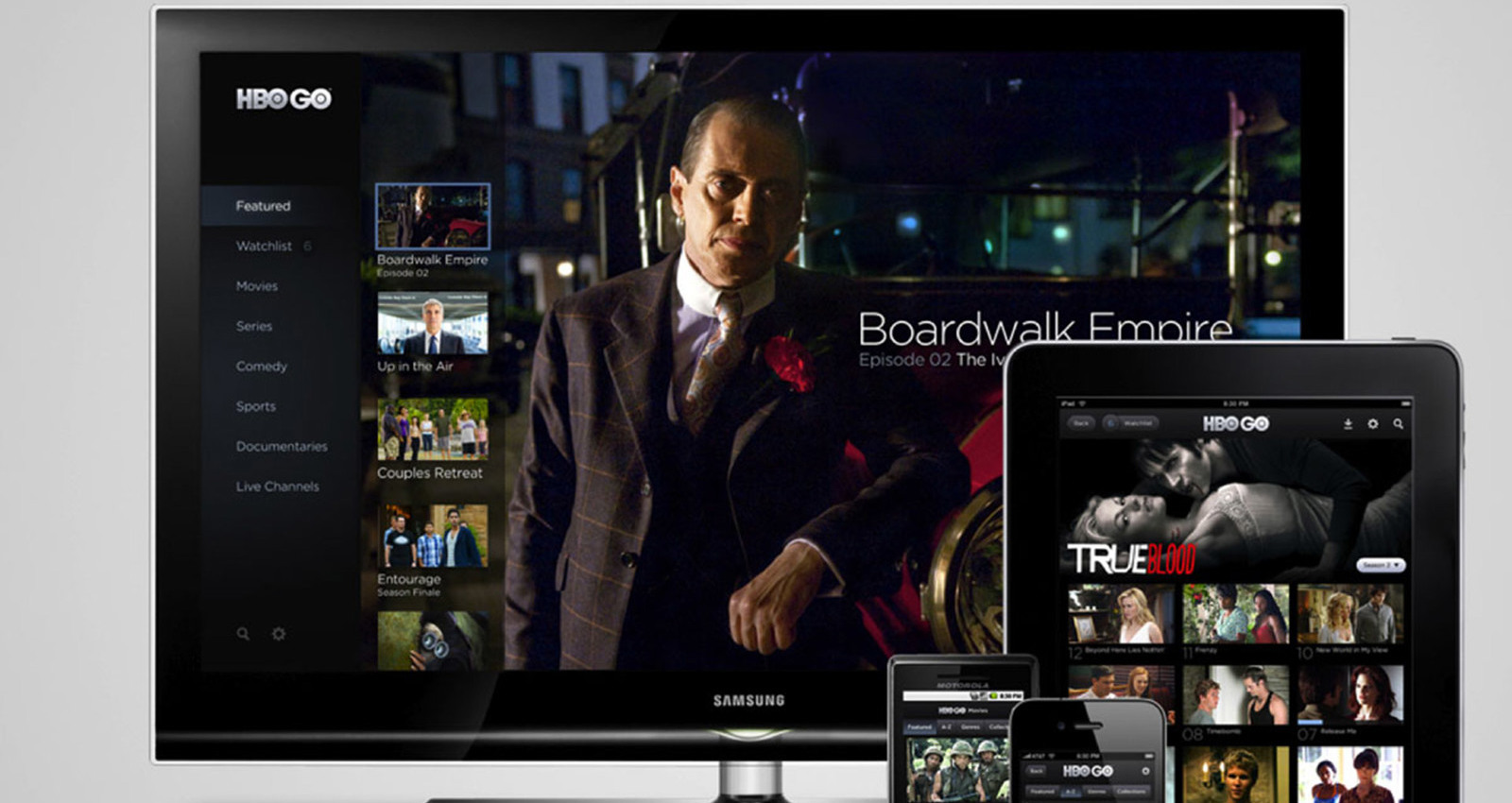 HBO GO Mobile Apps