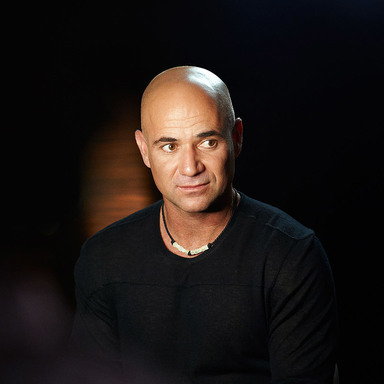 Open up with Andre Agassi FIlm Series