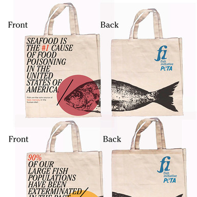 Natasha Shubaly Peta Tote Bags