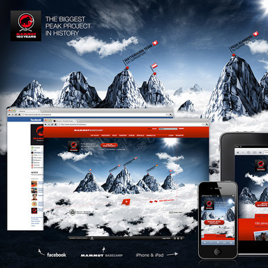 150years of Mammut - the biggest peak project in history
