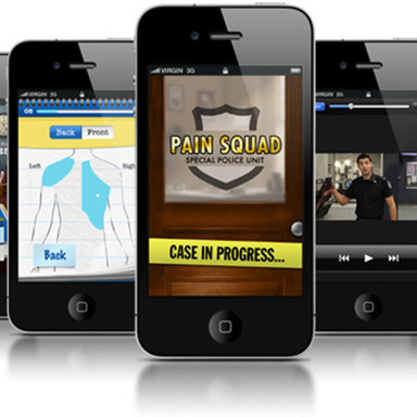 Pain Squad Mobile App