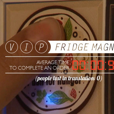 VIP Fridge Magnet