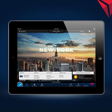 Fly Delta iPad App