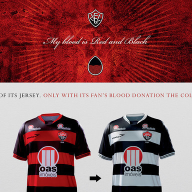 My blood is red and black