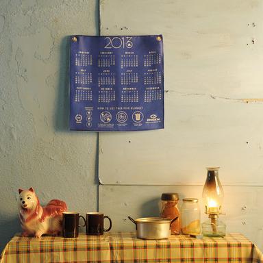 Engen Calendar Fire Blanket
