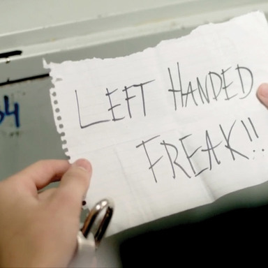 Is it ok to be left handed?