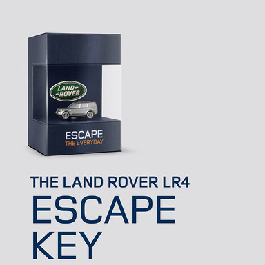 The Land Rover Escape Key