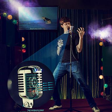Karaoke Breathalizer