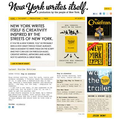 New York Writes Itself
