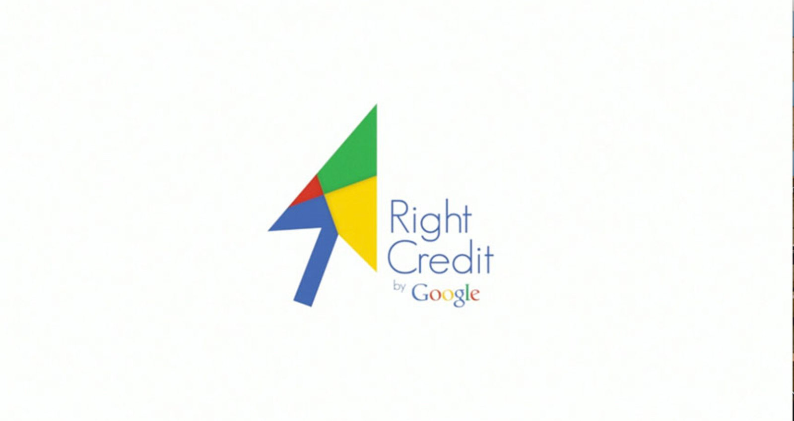 Right Credit by Google