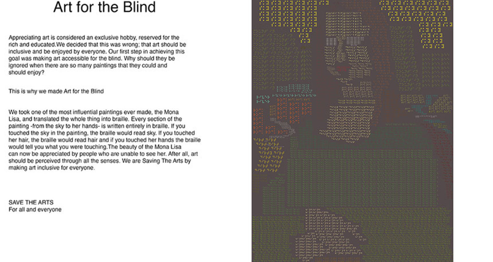 Art for the Blind