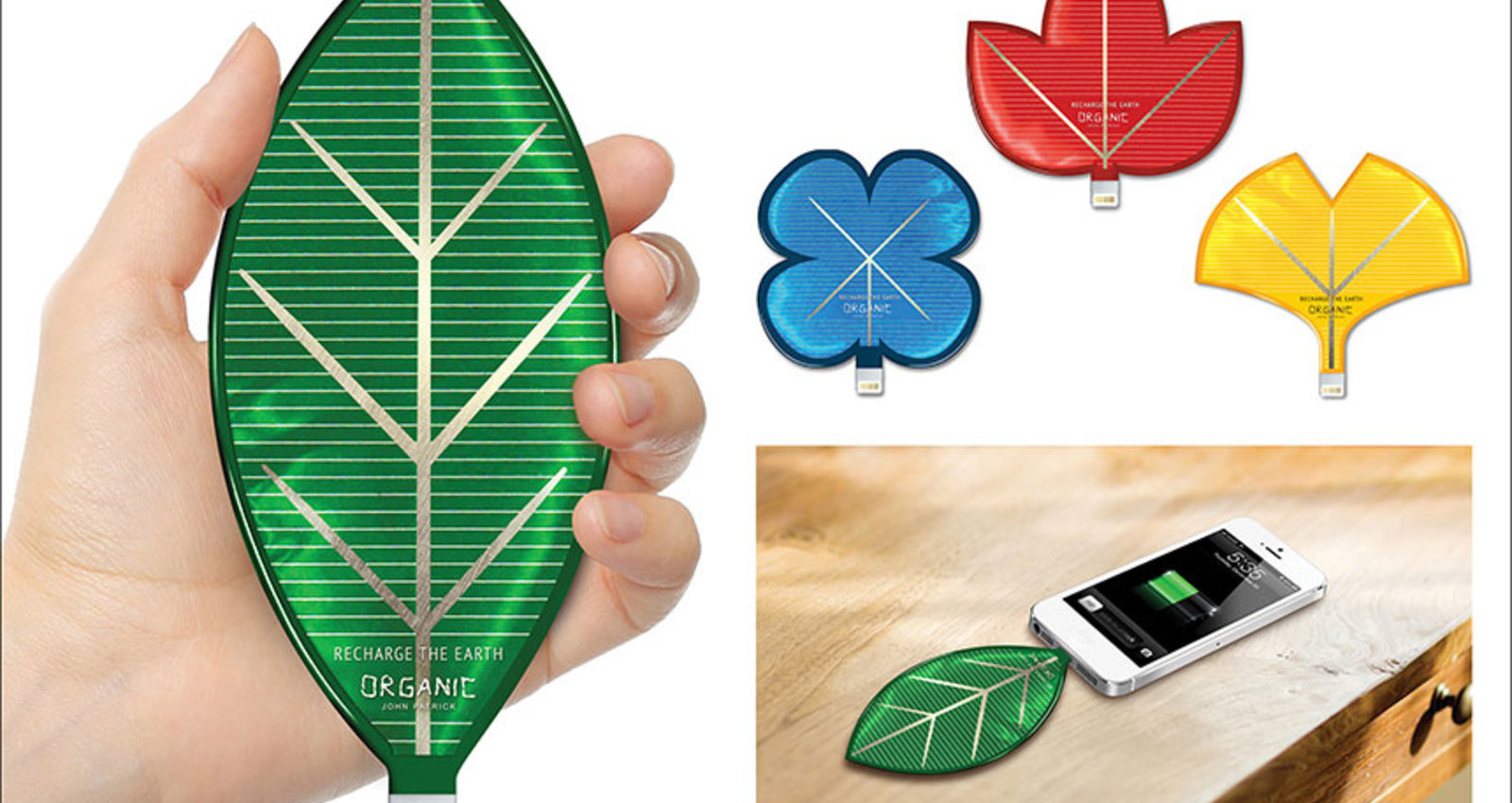 Leaf Solar Chargers