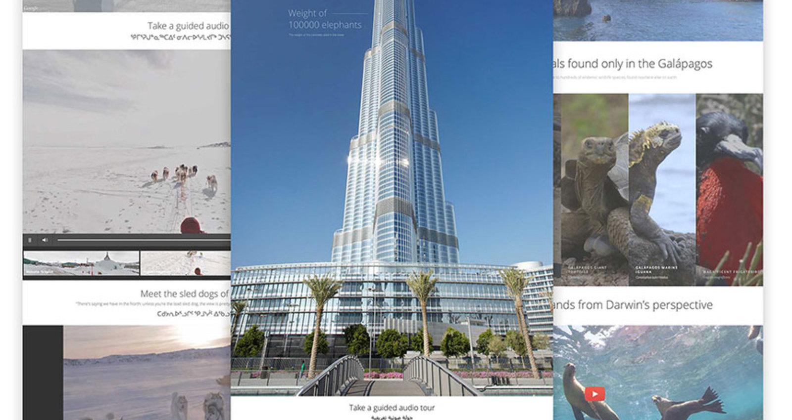 Google Street View Treks
