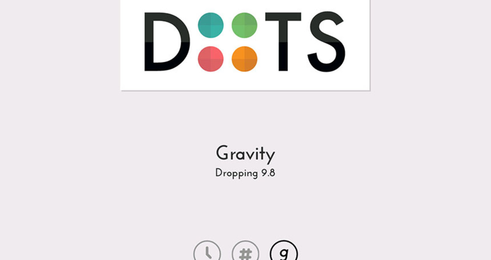 Gravity Mode on DOTS