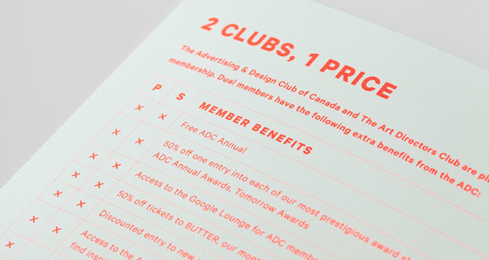ADCC Membership Brochure