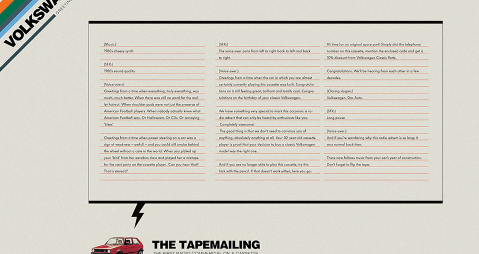 Tapemailing