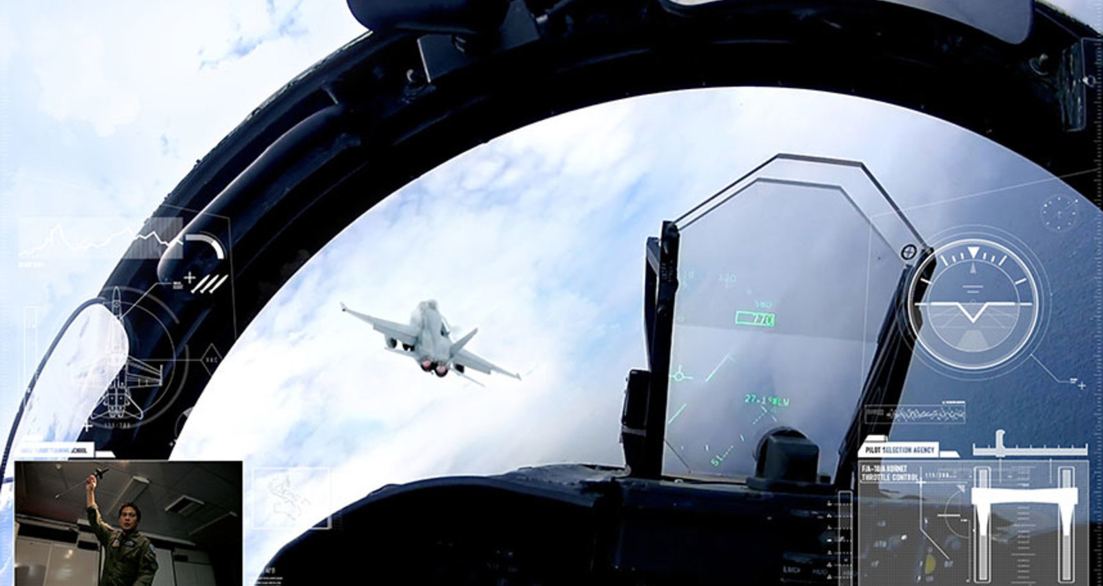 Fighter Pilot - Behind The Visor