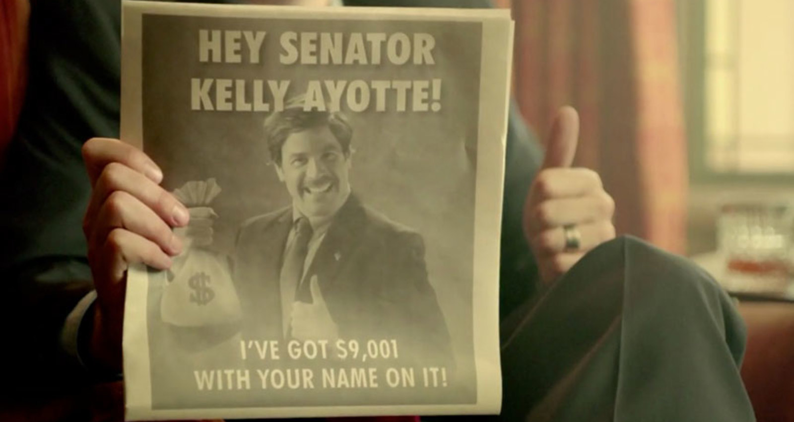 Bribe the Senate