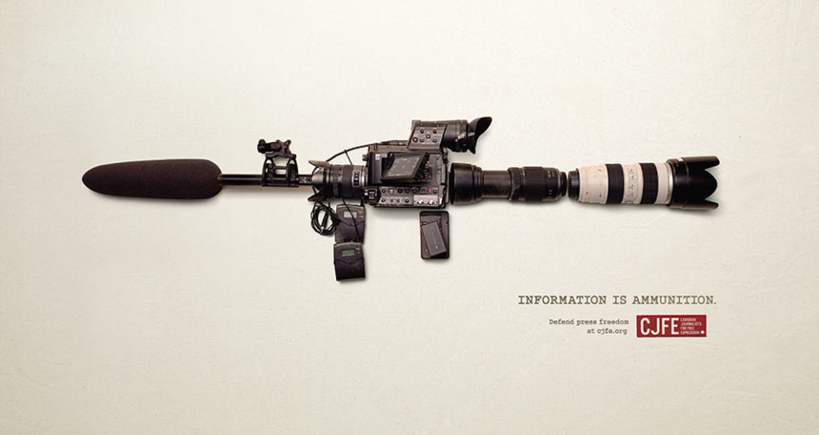 Information is Ammunition