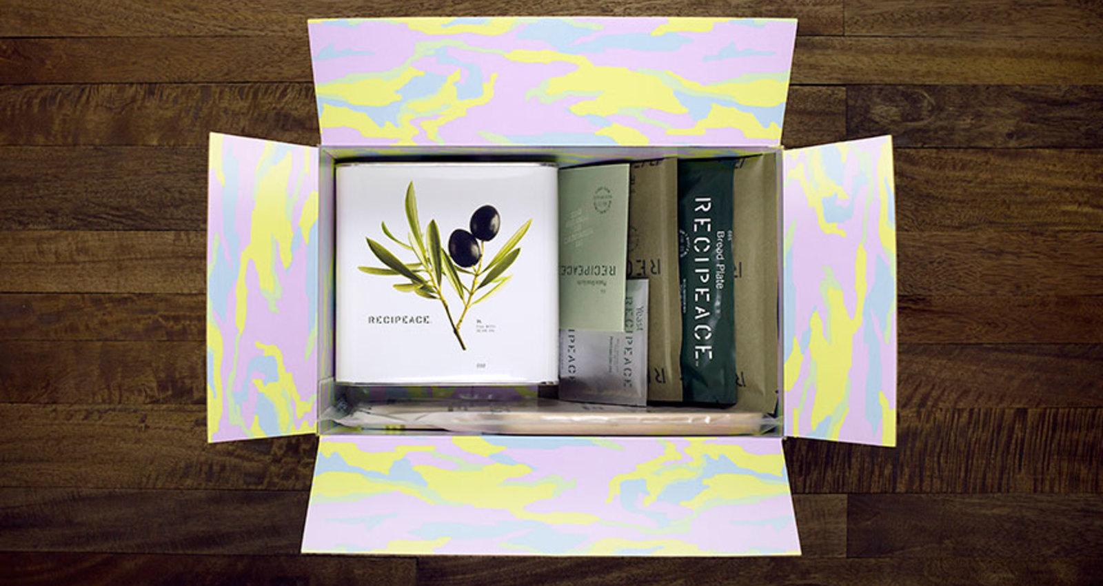 Recipeace Olive Oil Tin