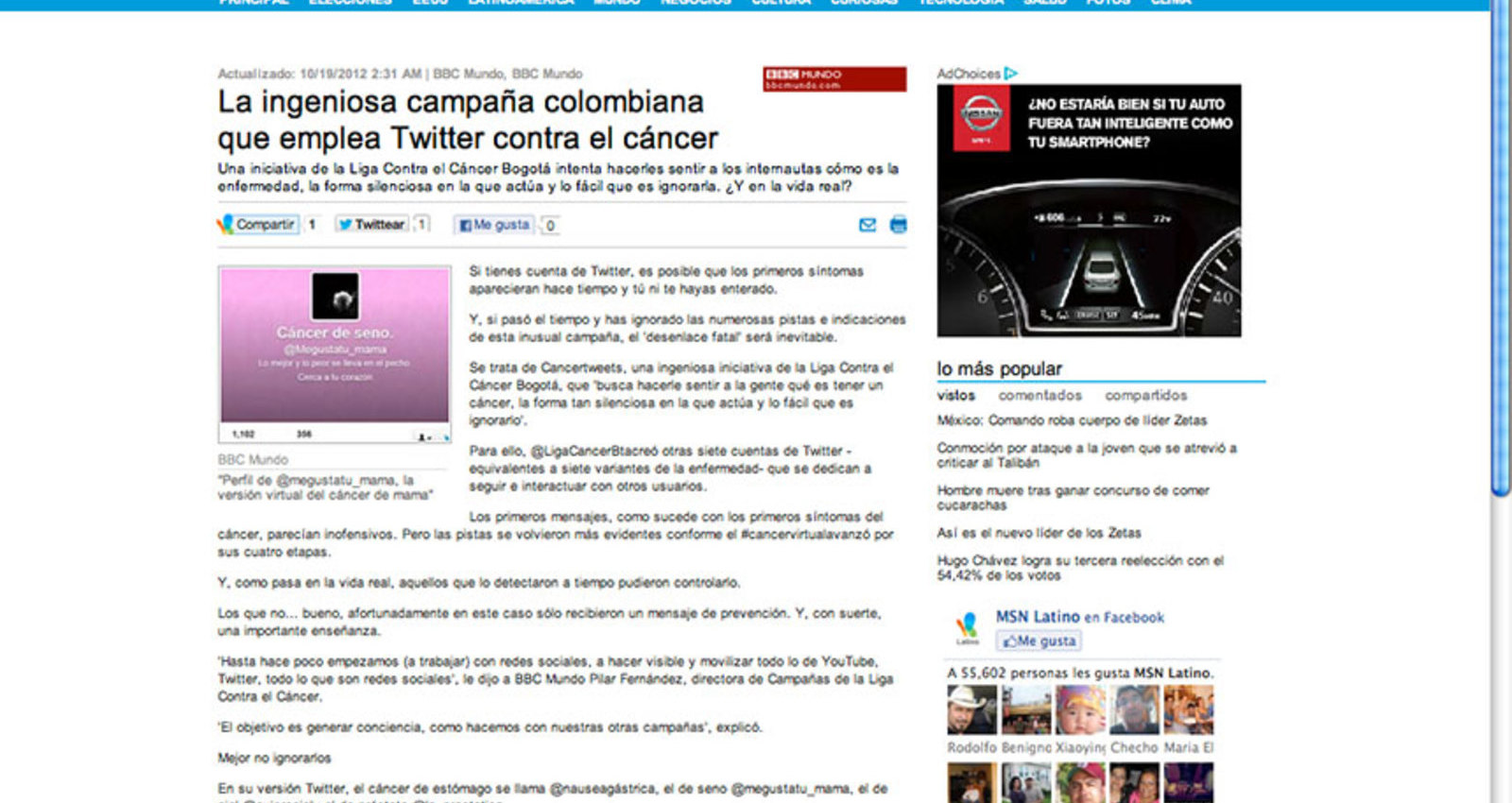 Cancertweets