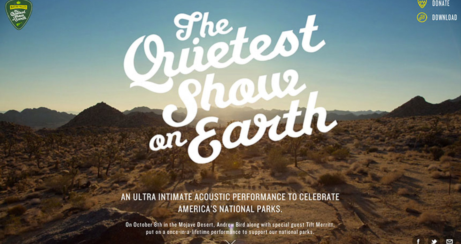 Quietest Show On Earth