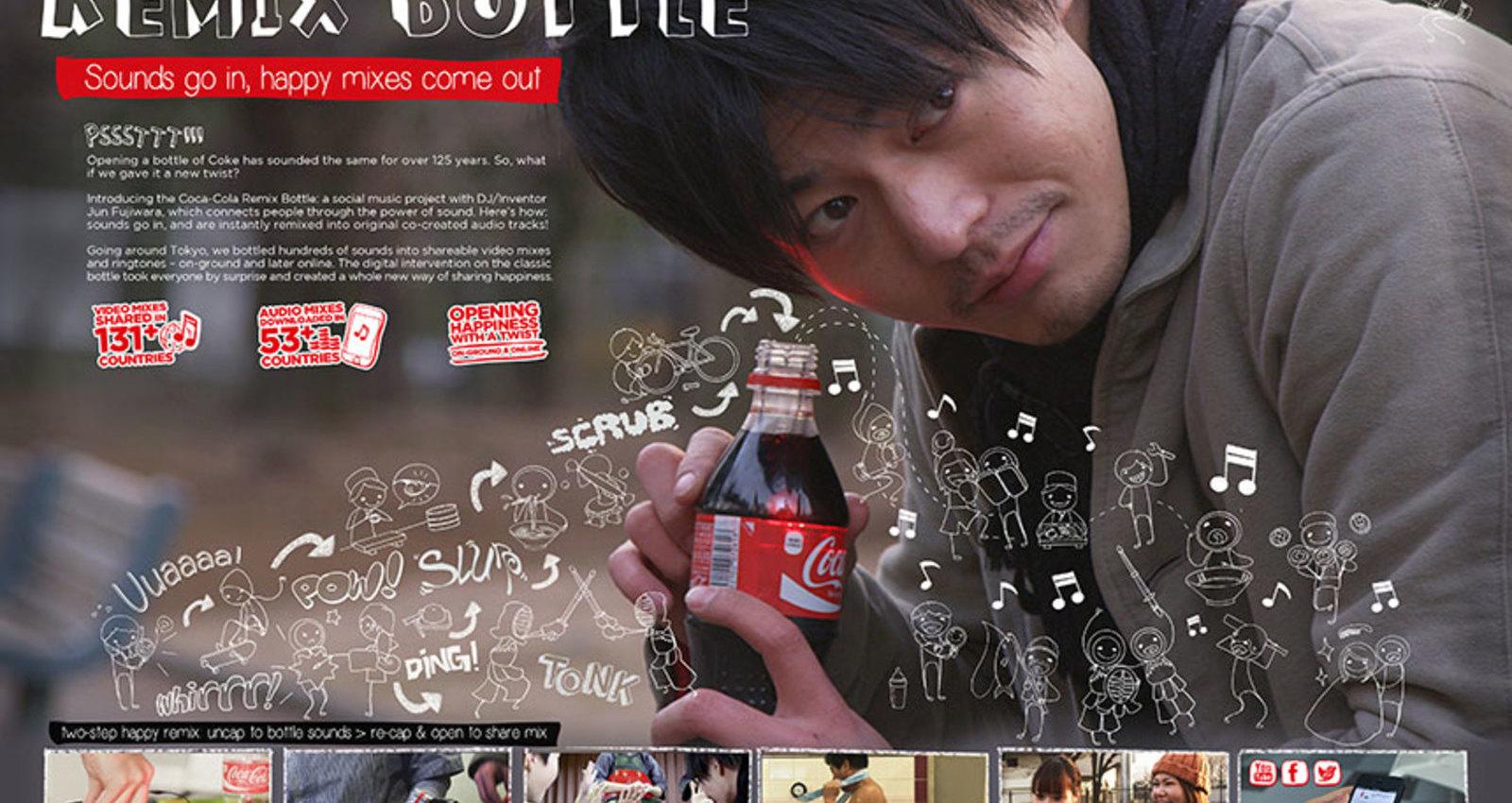 The Coca-Cola Remix Bottle