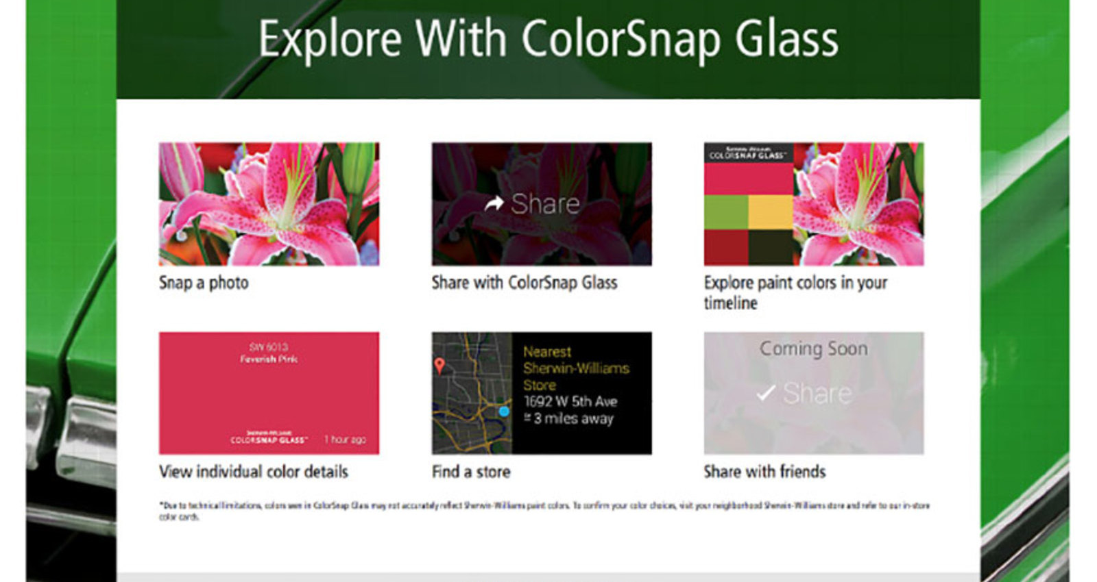 ColorSnap Glass™