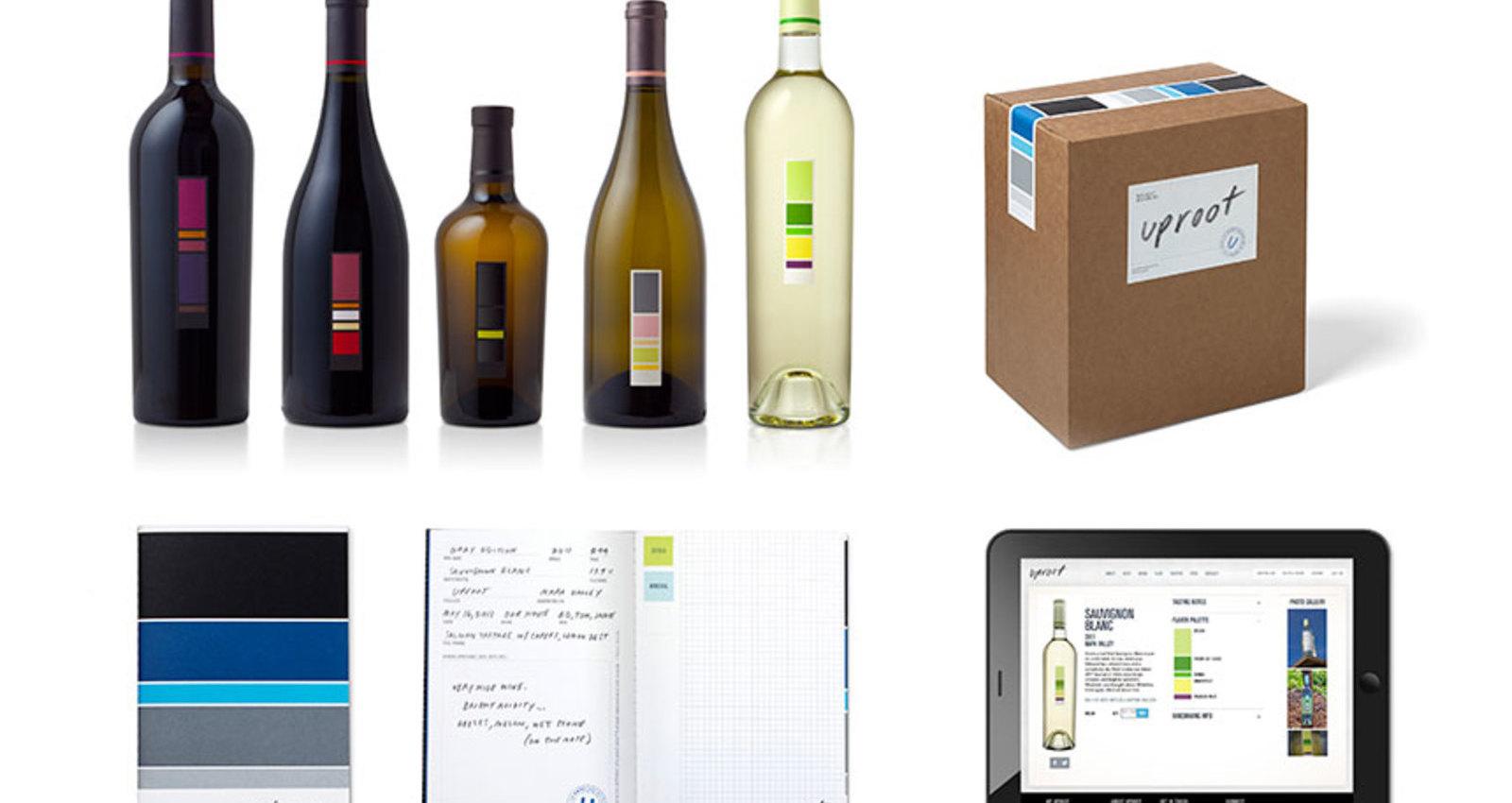 Uproot Wine Packaging