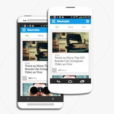Mashable app for Android