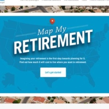 Map My Retirement
