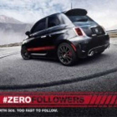 Abarth 500 #ZeroFollowers