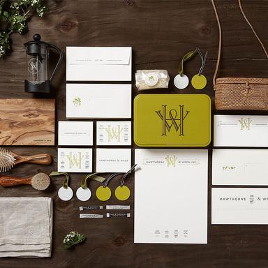 Hawthorne & Wren Branding