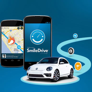 Volkswagen SmileDrive: A Google Art, Copy & Code Project