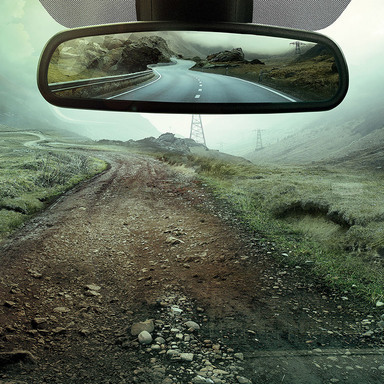 Renault rear-view mirror Offroad