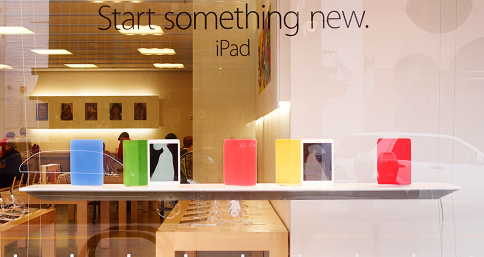Apple New Years Window - iPad