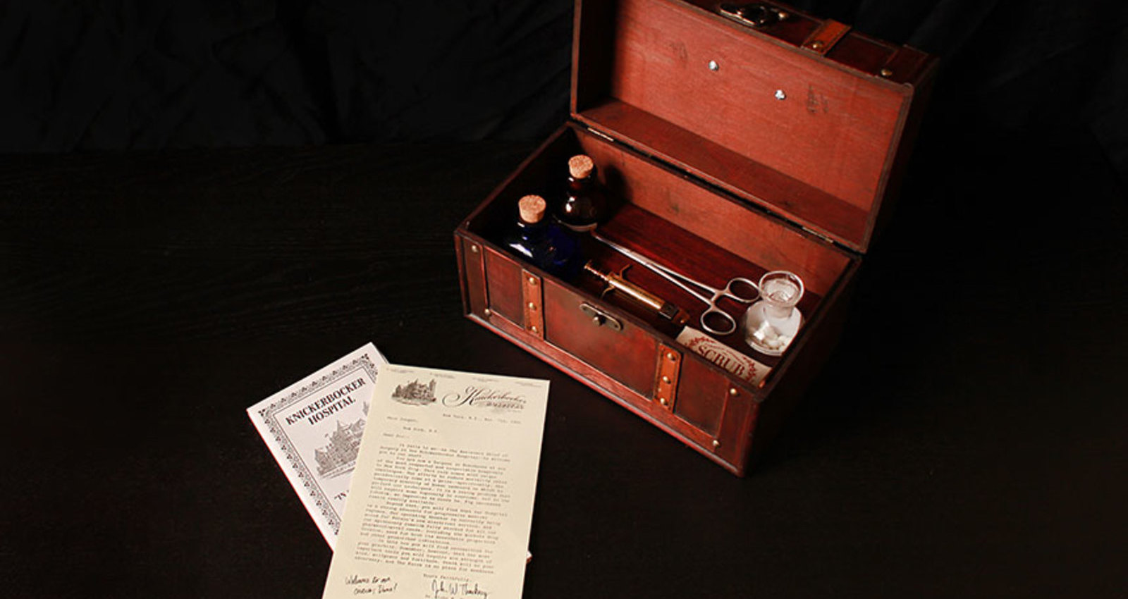 The Knick Surgeon's Box