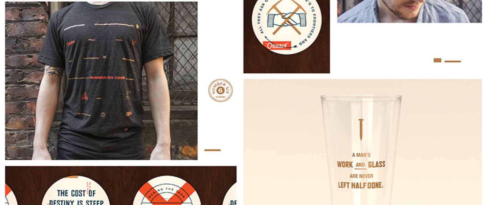 No. 6 Cider Promotional Materials