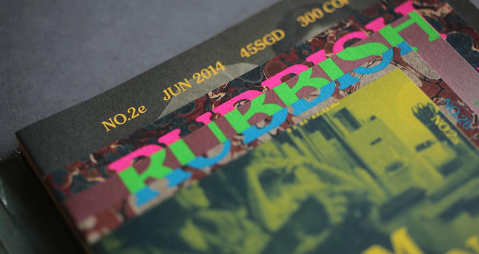 Rubbish Famzine. Till Death Do Us Part