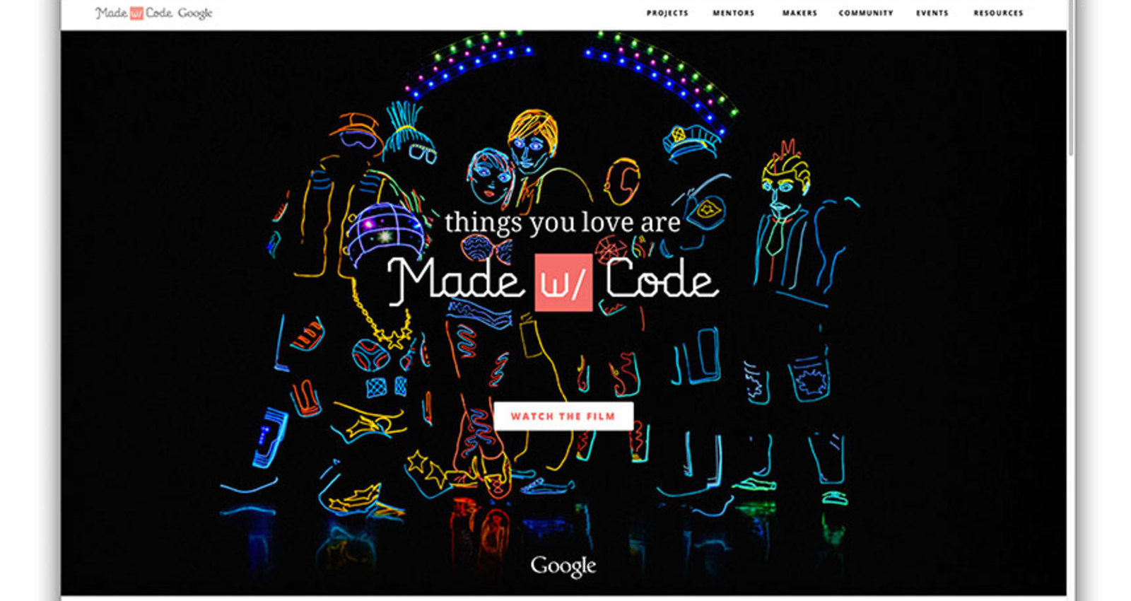 Google Made with Code