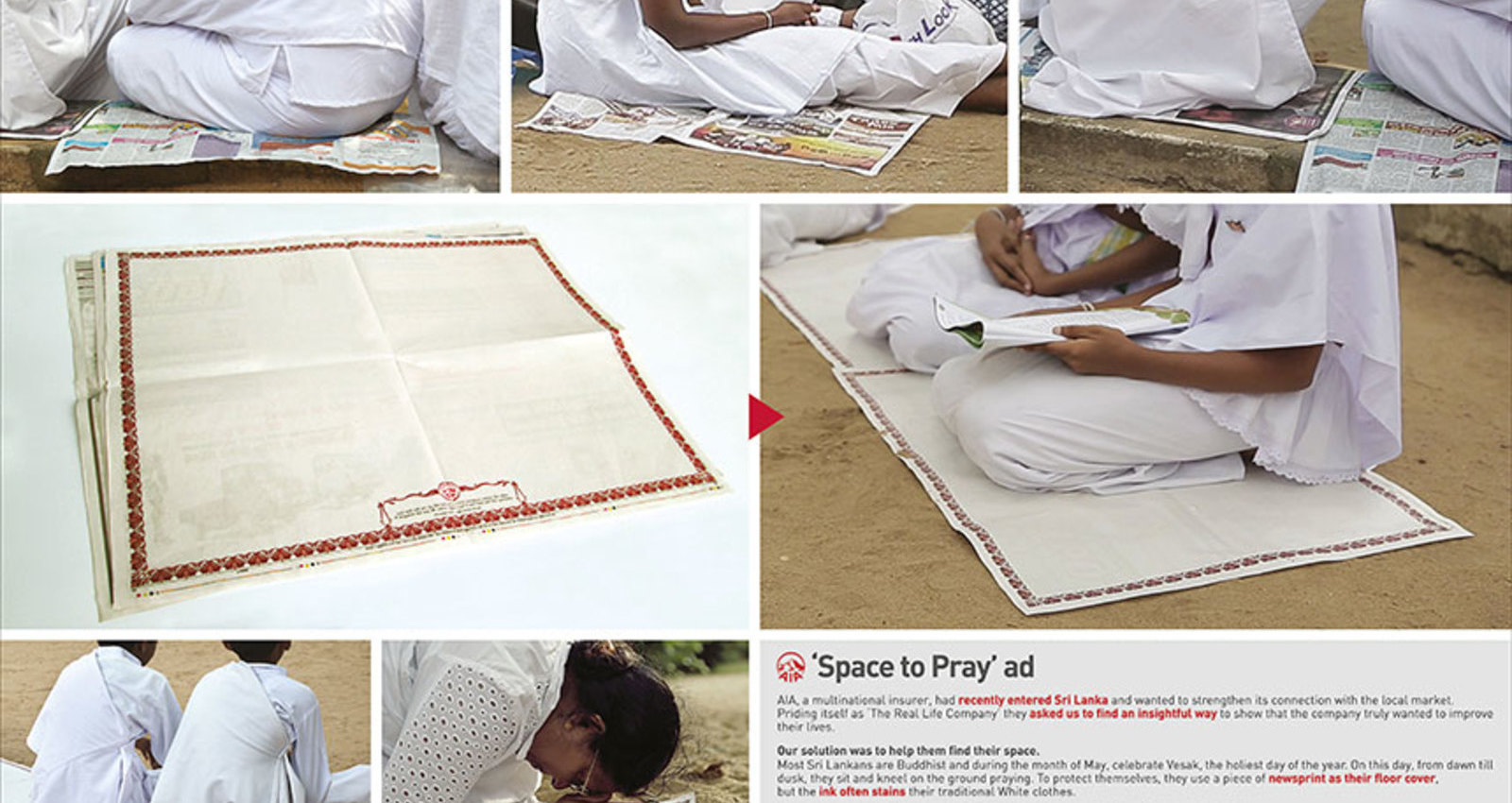 AIA SPACE TO PRAY AD