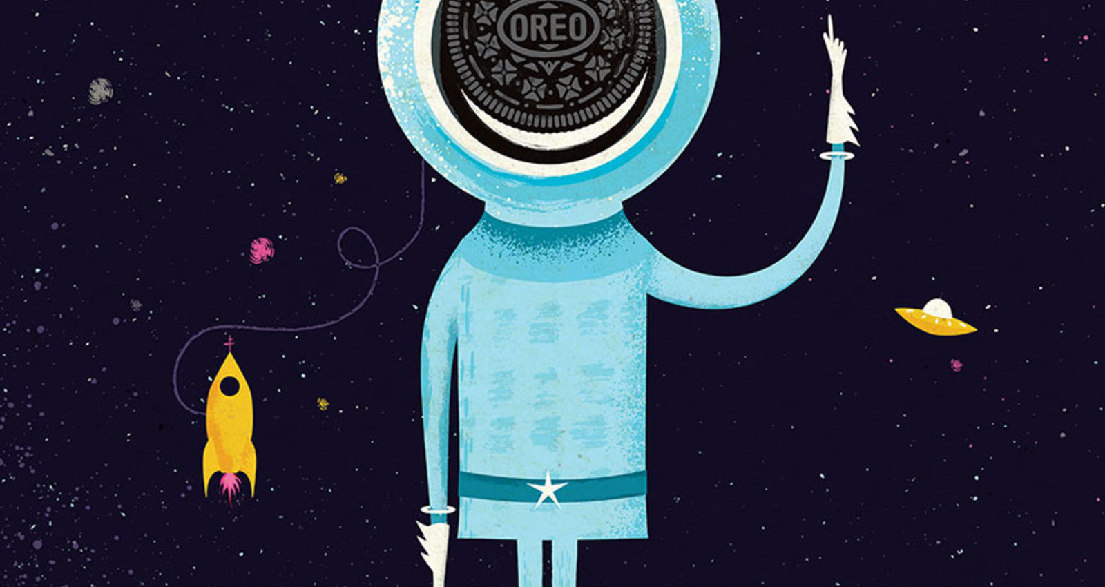 Wild Postings: Discover with Oreo, Bannecker
